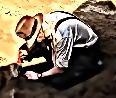 JF digging